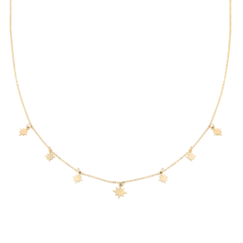 Ketting Counting stars - Goud