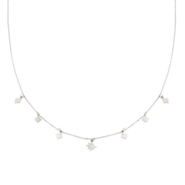 Ketting Counting stars - Zilver