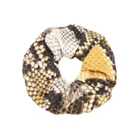 Scrunchie - Snake Yellow