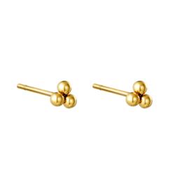 Oorbellen Tiny Points - Goud