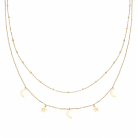 Ketting Beyond the stars - Goud