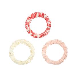 Scrunchie Set - Rood/Roze