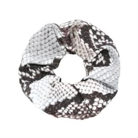 Srunchie - Snake Grey