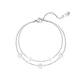 Armband Starstruck - Zilver
