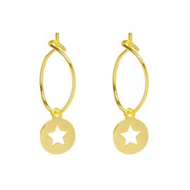 Oorbellen Twinkle Stars - Goud