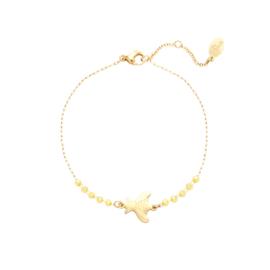 Armband Fly Away - Geel goud