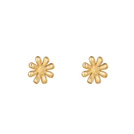 Oorbellen Flower - Goud