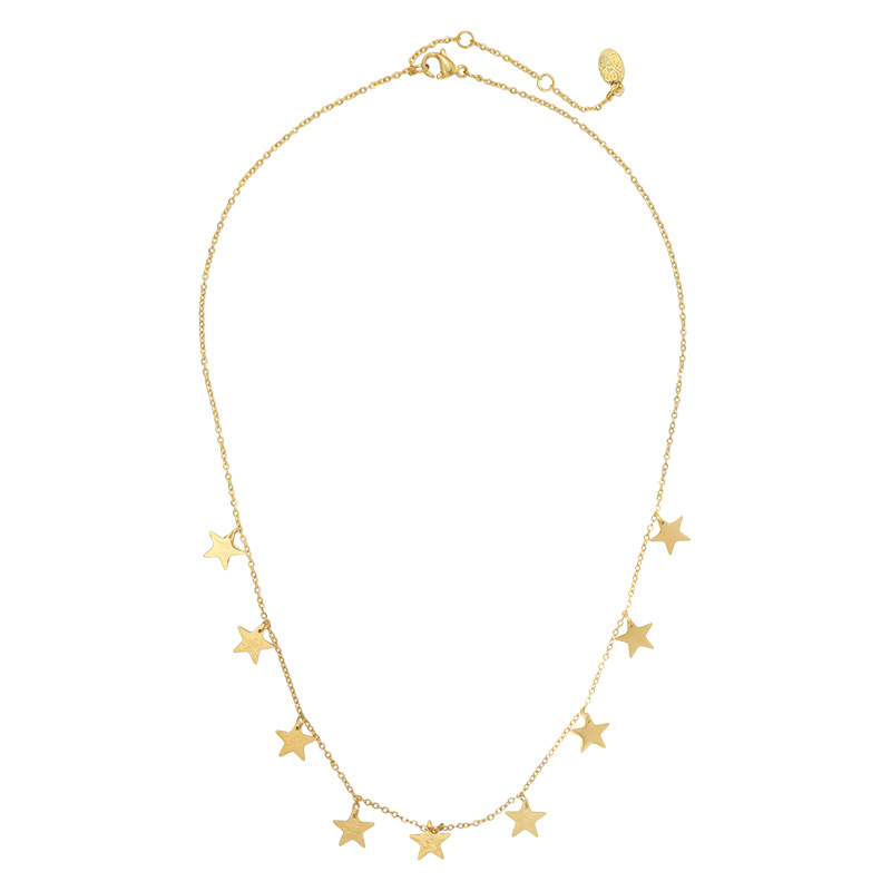 Ketting Lots of stars - Goud