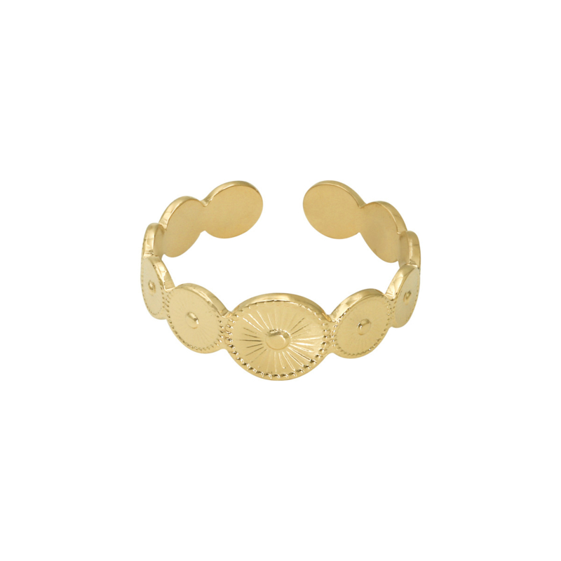 Ring Penelope Gold Steel