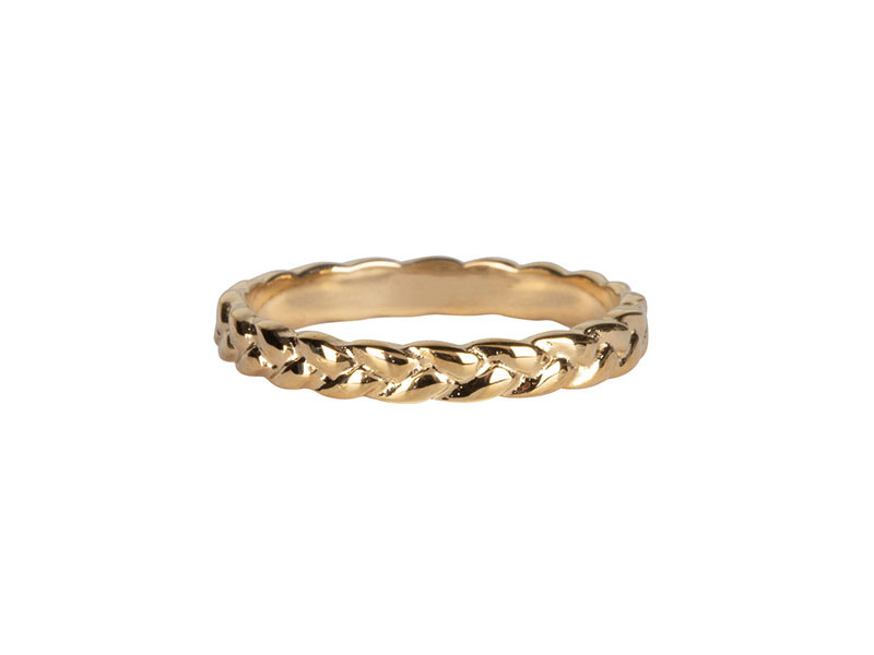 Ring Beauty Gold Steel