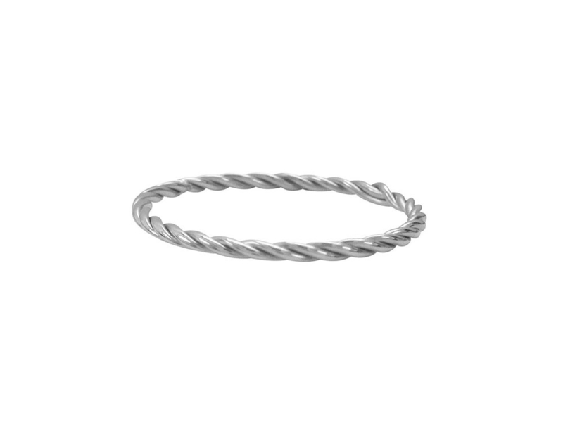 Ring Turning Shiny Steel