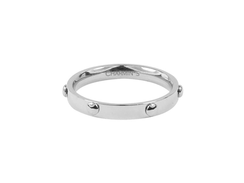 Ring Screw Shiny Steel