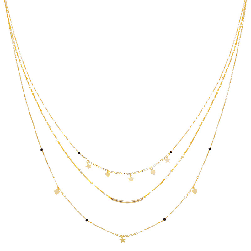 Ketting Famous Star - Goud