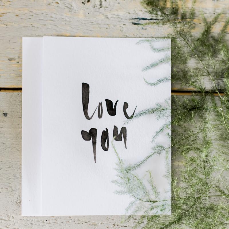 Kaart - LOVE YOU