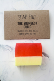 soap for the youngest child