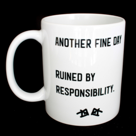 the 'it started so good' mug