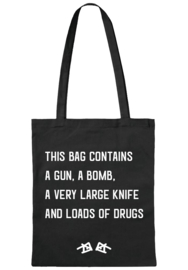 the 'this bag contains' bag