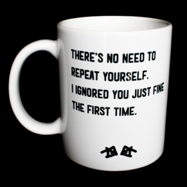 the 'nope' mug
