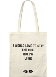 the 'I have no excuse' bag