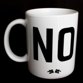 the 'yes' mug