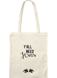 the 'y'all need Jesus' bag