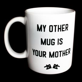 the 'yo mamma' mug