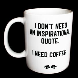 the 'inspirational' mug