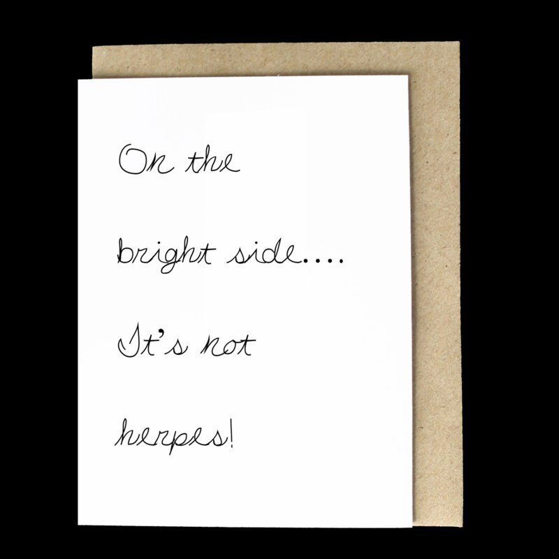 the 'positive side' card