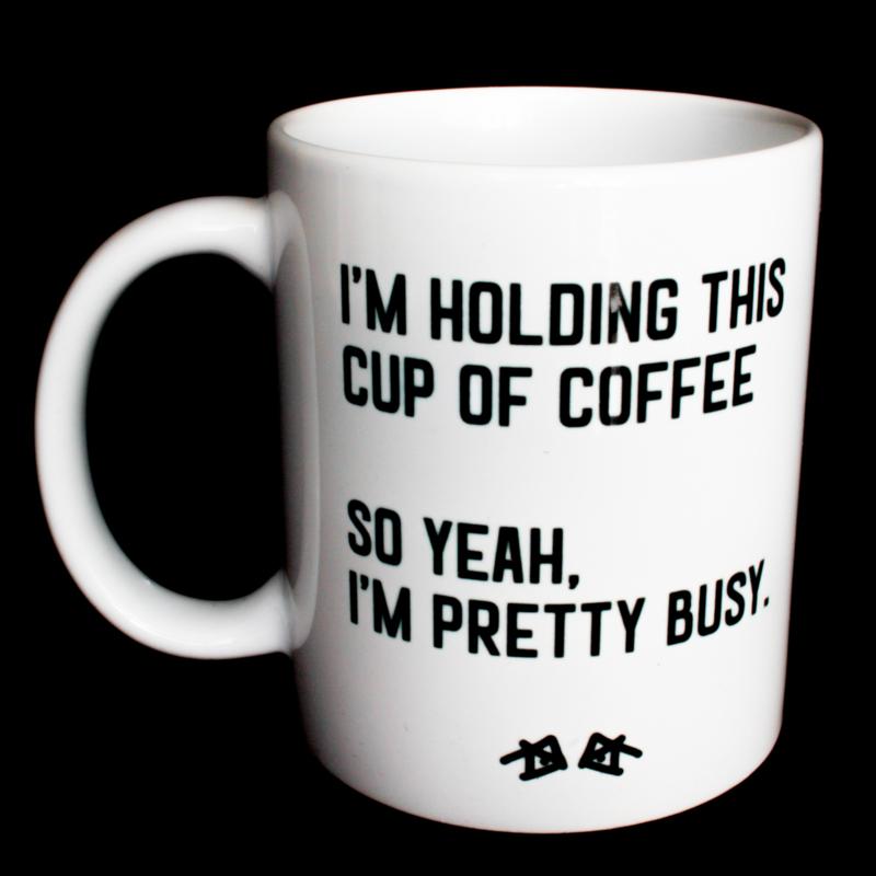 the 'procrastinating' mug