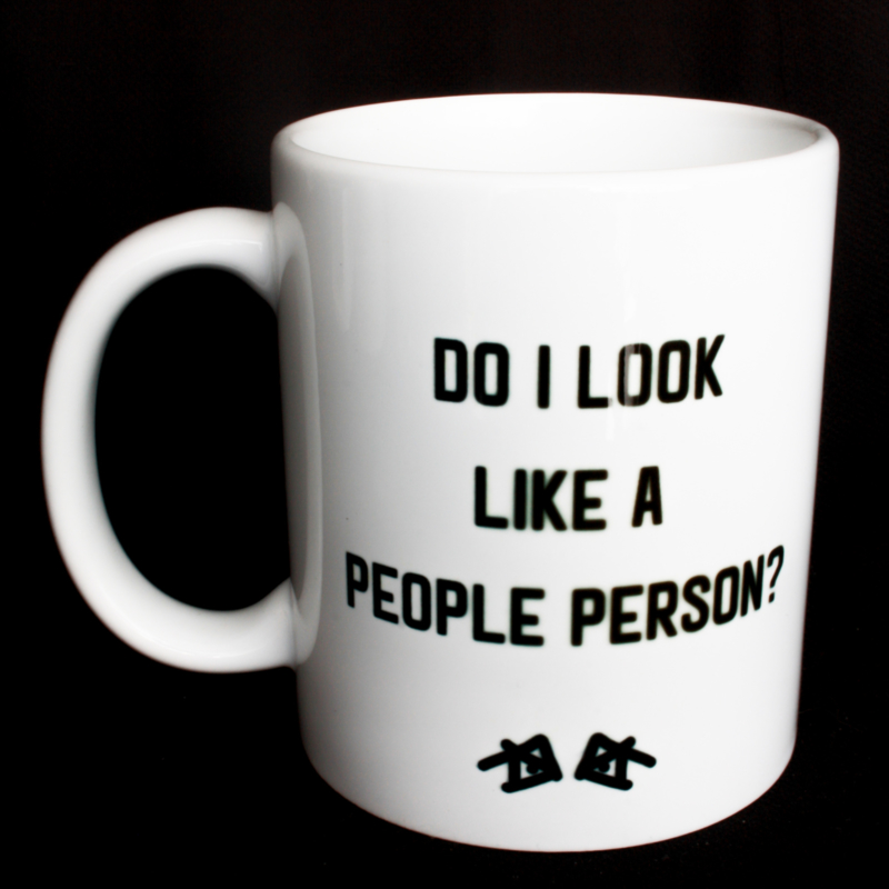 the 'look closely' mug