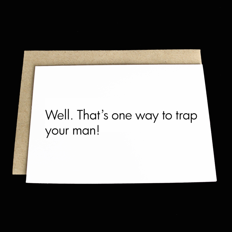 the 'pregtrap' card