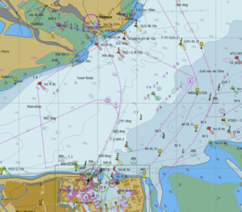 1800 (O) alle kaarten (kap bestanden) + de bijbehorende   S57 ENC (vector)kaarten geheel Nederland