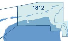 Combipack :1812, overzeiler Denemarken en Duitse wadden