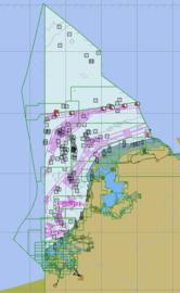 S57 ENC (vector)kaarten geheel Nederland
