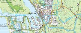 Topografische kaarten geheel Nederland 1:25000