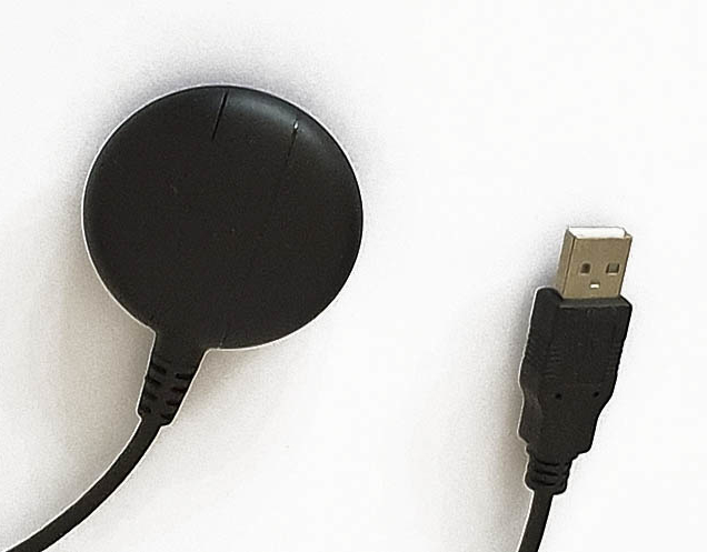 Gps ontvanger met USB aansluiting