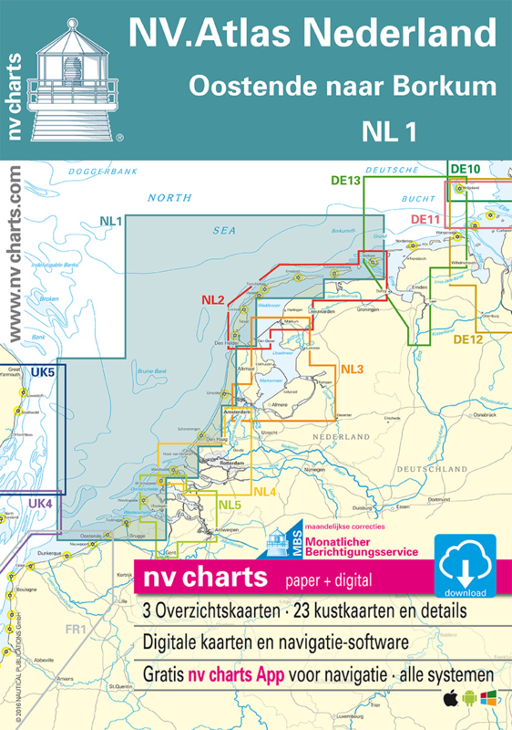 NV Atlas 1 Van Borkum naar Oostende