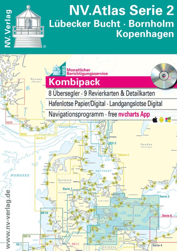 NV Atlas 2: Lübecker Bucht - Bornholm - Kopenhagen