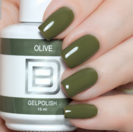 056 | Olive | Gelpolish By Djess | vrij van HEMA | 15 ml