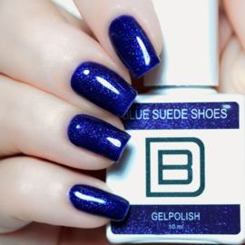 014 - Blue Suede Shoes | GelPolish by Djess |