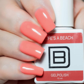 037 | Life's a Beach | Gelpolish By Djess | vrij van HEMA