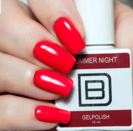 040 | Summer Night | Gelpolish By Djess | vrij van HEMA | 15 ml