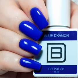 045 | Blue Dragon | Gelpolish By Djess | vrij van HEMA