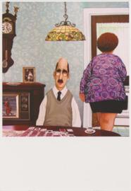 Ansichtkaart 25 jaar getrouwd