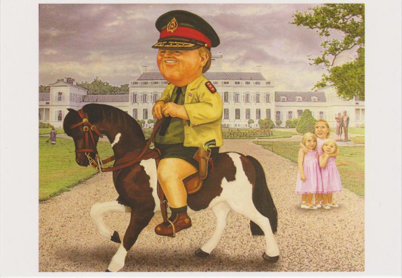 Ansichtkaart De Koning der Nederlanden