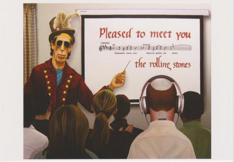 Ansichtkaart Please to meet you