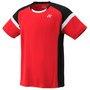 Yonex team shirt rood YJ0001EX maat 140