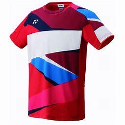 Yonex t-shirt sunset red XL