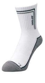 Yonex crew sock grey blue