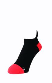 YONEX LOW CUT SOCK 19136 EX RED/BLACK